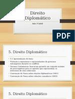 5. Direito Diplomático