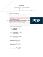 Laboratorio Quimica Inorganica Disoluciones