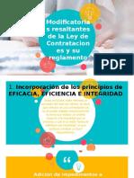Modificatorias de la Ley Contrataciones con el Estado.pptx