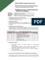 TDR ULE 2020
