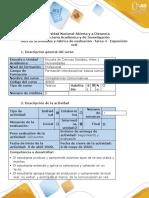 Guía de actividades y rúbrica de evaluación-Tarea 4-El Discurso