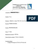 Gramática I 2019 Portugués