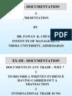 8. EX-IM - DOCUMENTATION -SV