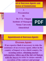 6. Appointment of Overseas Agents and Remittance of Commission-1