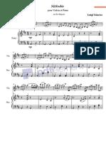 Mélodie pour Violon et Piano