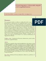 La Gendarmería Nacional Argentina y el desarrollo solapado