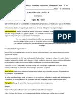 ACTIVIDAD 9 ESPAÑOL II  2 DE ABRIL DE 2020