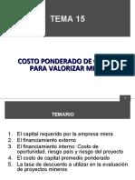 TEMA 15 COSTO PONDERADO DE CAPITAL.ppt