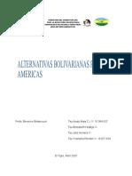 ALTERNATIVAS BOLIVARIANAS