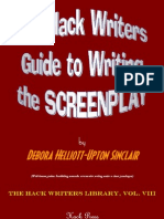 Hack Writers Guide to Writing the Screenplay