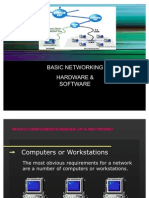 Basic Network, Hardware & Software