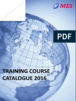 Training Brochure 2016