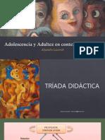 Triada didactica - trayectorias y BAP