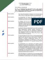 Orden ejecutiva sobre inmunidad a profesionales de la salud