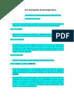 Inventario de preguntas de psicología clínica