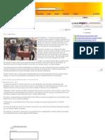 22-12-10 - Estudiantes repudian carpeteo por parte de la policía