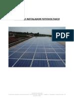 Curso Instalador Fotovoltaico