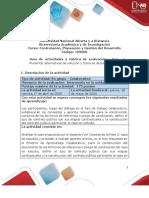 Guia de actividades y Rúbrica de evaluación - Fase 2- Presentar alternativas de solución y toma de decisiones.pdf