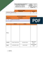 GG-P-06 Rendicion de Cuentas