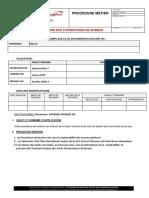 Procedures de gestion des  fournitures de bureau