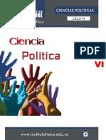 CIENCIAS POLÍTICAS VI