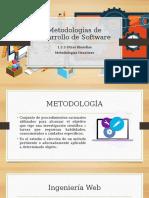 Metodologías de Desarrollo de Softwaree