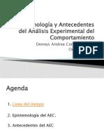 Antecedentes y principios AEC