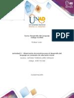 Formato para la elaboración de la actividad 3 - Observación de prácticas para el desarrollo del lenguaje en contextos de educació - modificado - copia