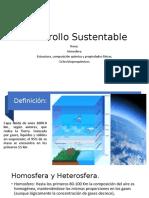 Desarrollo Sustentable atmosfera.