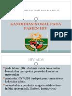 Kandidiasis Oral Pada Pasien Hiv