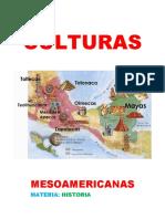 CULTURAS MESOAMERICANAS RECOPILACION
