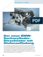 Der neue BMW Sechszylinder Dieselmotor mit Stufenaufladung