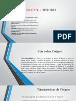 COLGATE - HISTORIA