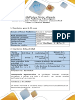 Guía de actividades y rúbrica de evaluación taller 6. Exposición de texto