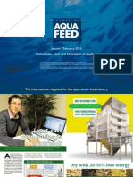 Least cost formulation in aquafeed