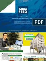 Least cost formulation in aquafeed