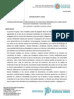 Comunicación 2-2020 Programa DPCyPS