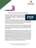 Perfil logístico de Reino Unido