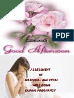 criteria for antenatal assessment