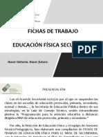 Fichas e.f. Secundaria