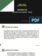 METODO DE FUERZAS - VIGAS