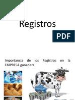 Registros y análisis