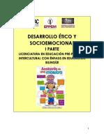 Parte I Guía Desarrollo Ético y Socioemocional
