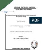 BALANCE HIDROLOGICO EN LA CUENCA MALACATEPEC – EL SALITRE EN EL ESTADO DE MEXICO