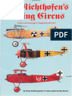 Von Richthofens Flying Circus (Windsock Fabric Special, No. 1) by Greg VanWyngarden