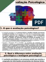Aula_Cartilha Avaliação Psicológica