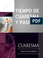 TIEMPO DE CUARESMA Y PASCUA