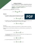 Unidad 2 Intervalos e Inecuaciones Lineales