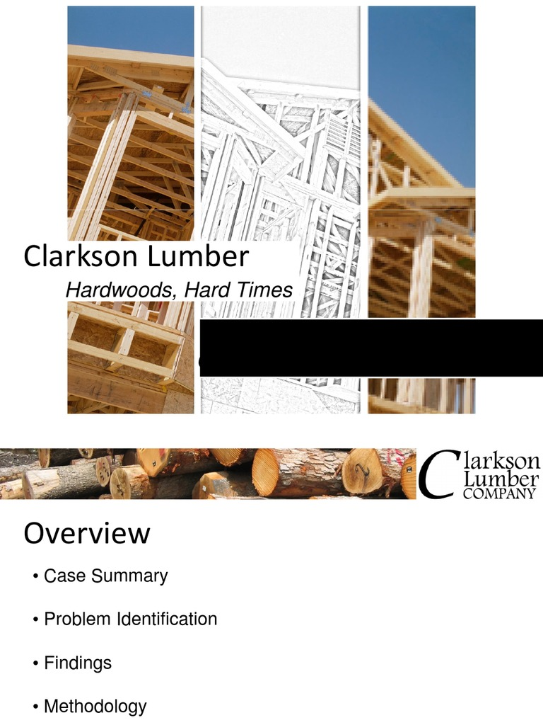 clarkson lumber company case solution