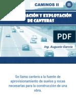 05.00 Explotacion de Canteras